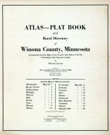 Title Page and Index, Winona County 1927