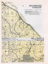 Richmond Township, Hillsdale Township, Stockton, Lamoille, Donhower, Winona County 1950c