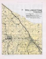 Rollingstone Township, Minnesota City, Whitman, Winona County 1950c