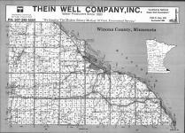 Index Map, Winona County 1992