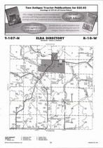 Elba Township, Whitewater River, Directory Map, Winona County 2007