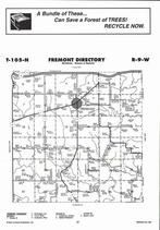 Fremont Township, Ferguson Creek, Directory Map, Winona County 2007