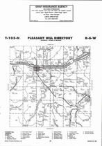 Pleasant Hill Township, New Hartford, Ridgeway, Directory Map, Winona County 2007