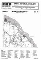 Richmond Township, Lamoille, Donehower, Directory Map, Winona County 2007