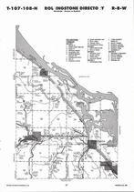 Rollingstone Township, Whitman, Minnesota City, Winona, Directory Map, Winona County 2007