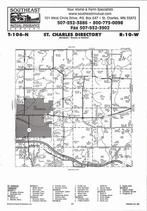St. Charles Township, Whitewater River, Directory Map, Winona County 2007