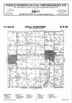 Utica Township, Bethany, Lewiston, Directory Map, Winona County 2007