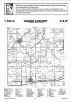 Warren Township, The Arches, Wyatville, Directory Map, Winona County 2007