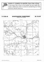 Whitewater Township, Beaver, Directory Map, Winona County 2007