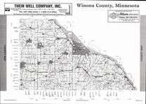 Winona County Map, Winona County 2007
