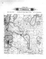 Corinna Township, Clear Water Lake, Sugar Lake, Annandale, Wright County 1901