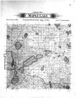 Maple Lake township, Ramsey Lake, Wright County 1901