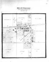 Montrose, Wright County 1901