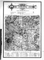 Corinna Township, Annandale, Sugar Lake, Lakeview, Wright County 1915