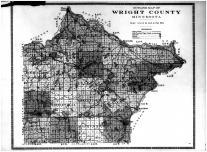 Outline Map, Wright County 1915