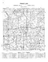 French Lake Township, Wright County 1956