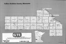 Index Map, Yellow Medicine County 1992