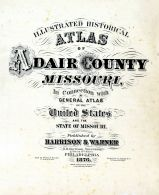 Title Page, Adair County 1876