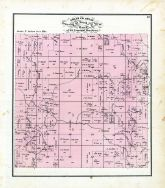 Township 61 North Range 17 West, Little Mussel Creek, Chariton River, Walnut Creek, Adair County 1876