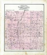 Township 63 North Range 15 West, Floyd Creek, St. L. K. G and N. R.R., Hazel Creek, Adair County 1876