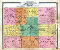 Index Map, Adair County 1919