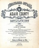 Title Page, Adair County 1919