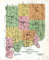 Atchison County Topographical Map, Atchison County 1921