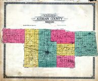 Index Outline Map, Audrain County 1918