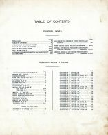 Table of Contents, Audrain County 1918