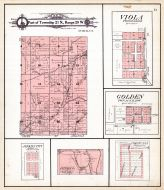 Township 21 Range 29, Viola, Golden, Jenkins City, Corsicana, Barry County 1909