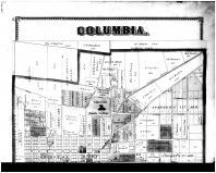 Columbia - Above, Boone County 1875