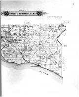 Hart City, Claysville, Township 45 North Ranges 11,12 & 13 West - right, Boone County 1898