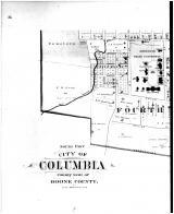 South Part Columbia - left, Boone County 1898