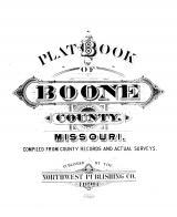 Title Page, Boone County 1898