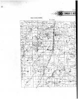 Township 49 North Ranges 11 & 12 West, Browns Station - left, Boone County 1898