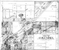 East Part Columbia - above, Boone County 1917