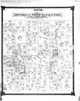 Davis, Township 55 North range 26 West, Caldwell County 1876 Microfilm