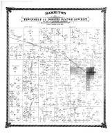 Hamilton, Township 57 North Range 28 West, Caldwell County 1876 Microfilm