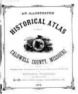 Title Page, Caldwell County 1876 Microfilm