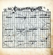 Index County Map, Caldwell County 1907 McGlumphy