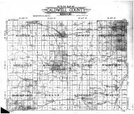 Caldwell County Outline Map, Caldwell County 1917