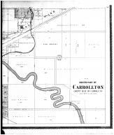 South Part of Carrollton - right, Carroll County 1896 Microfilm