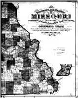 Missouri Township Map - Right, Cooper County 1877