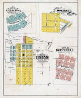 Catawissa, Moselle, Union, Robertsville - Plats, Franklin County 1878