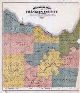 Franklin County Sectional Map, Franklin County 1878