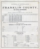 Franklin County Statistics and Index, Franklin County 1878