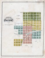 Pacific - Plat, Franklin County 1878