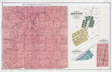 Township 40, 41 North, Range 3, 4 West, Boone, St. Clair, Stanton, Sullivan - Plat, Franklin County 1878