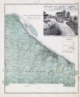 Township 44 North, Range 1 West., St. Johns, Washington, Bassora, South Point, Franklin County 1878