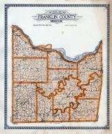 Franklin County Outline Map Franklin County 1919